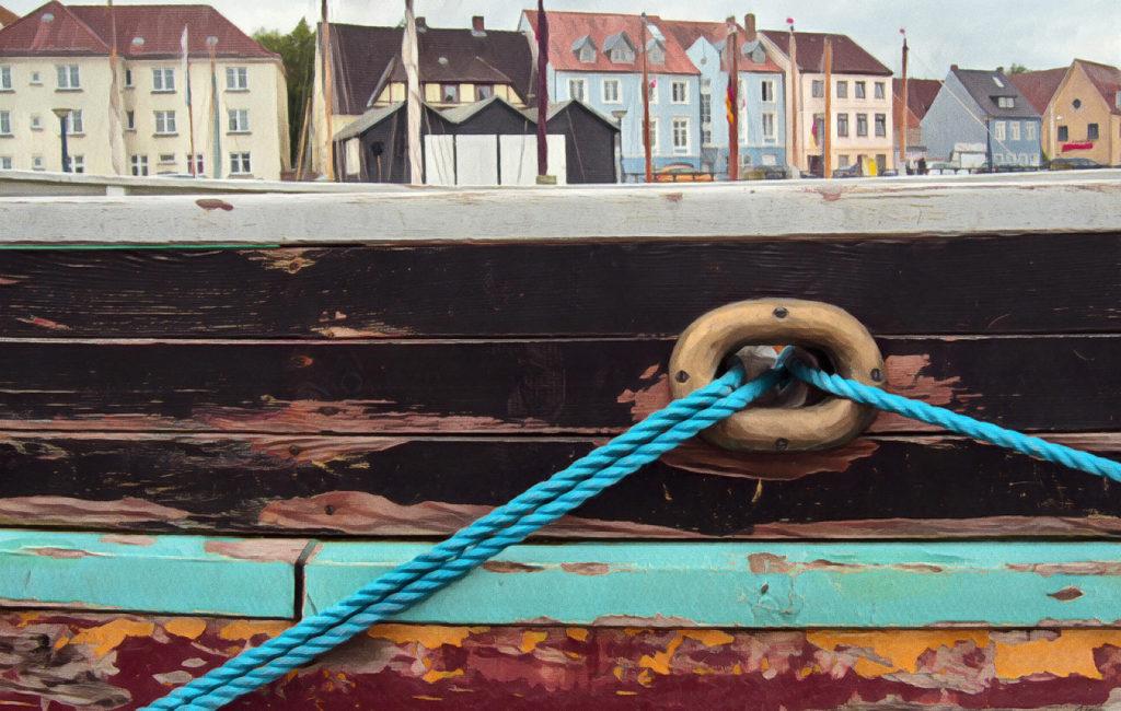 Poster: Flensburg malerisch