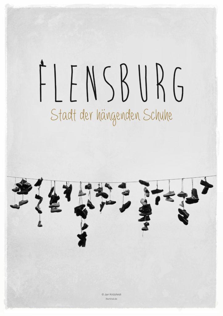 Flensburg - Stadt der hängenden Schuhe