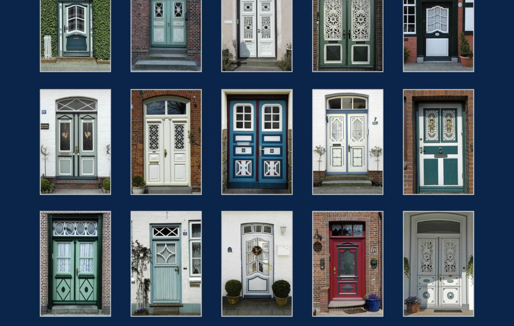 Poster: Türen in Friedrichstadt
