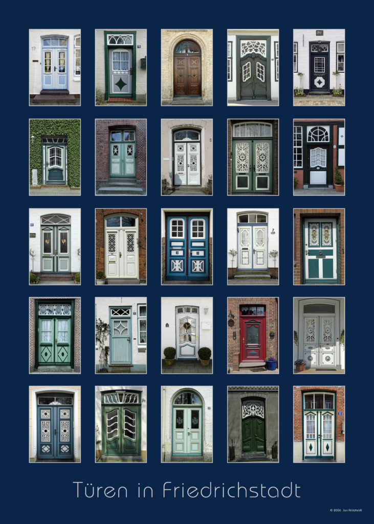 Türen in Friedrichstadt