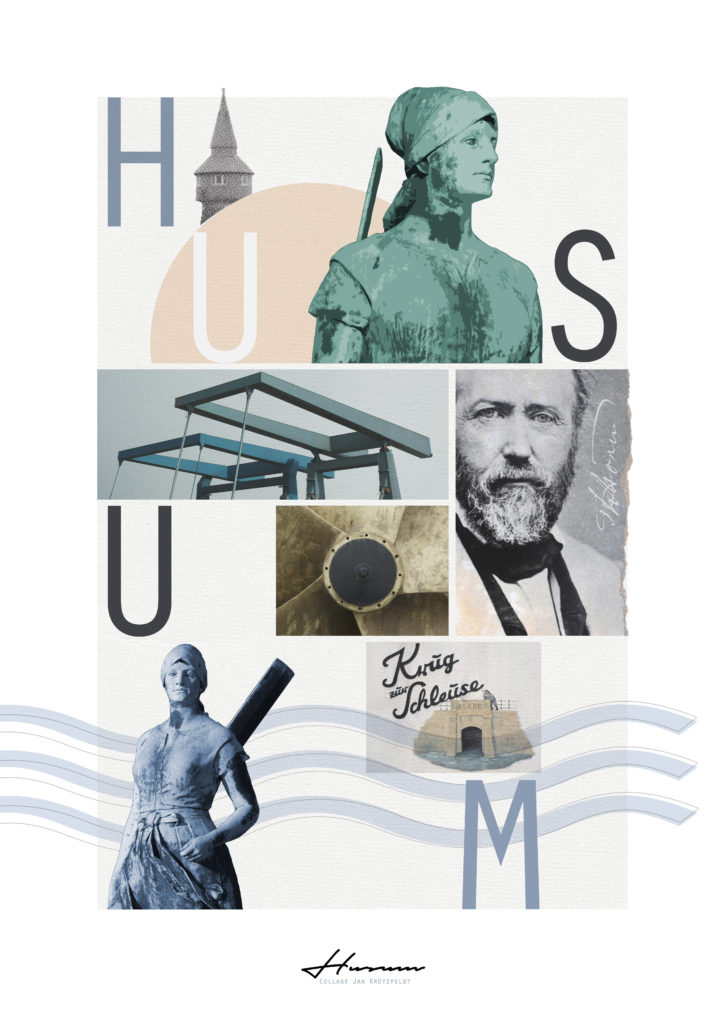 Collage Husum Poster