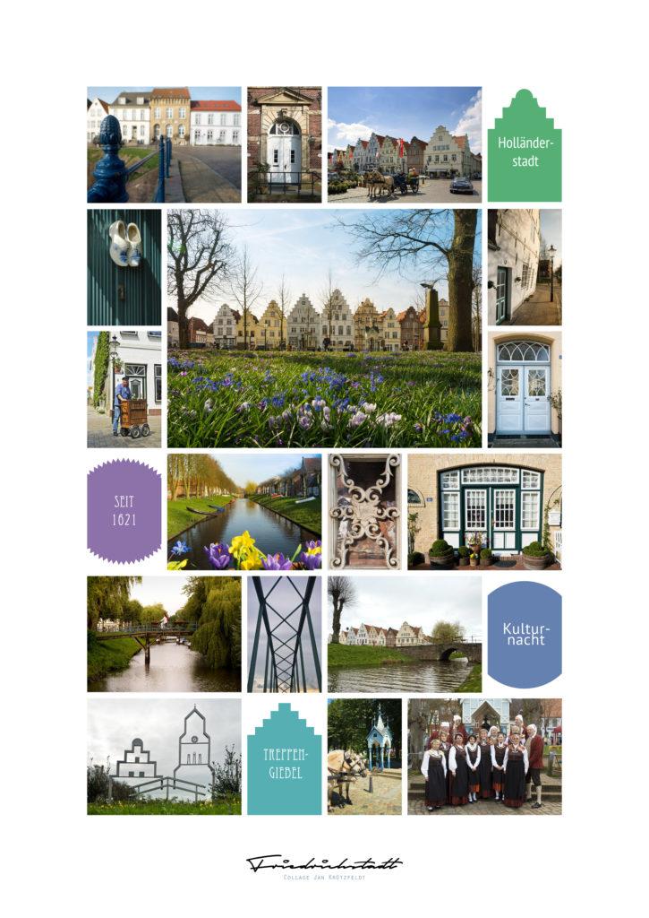 Collage Friedrichstadt Poster