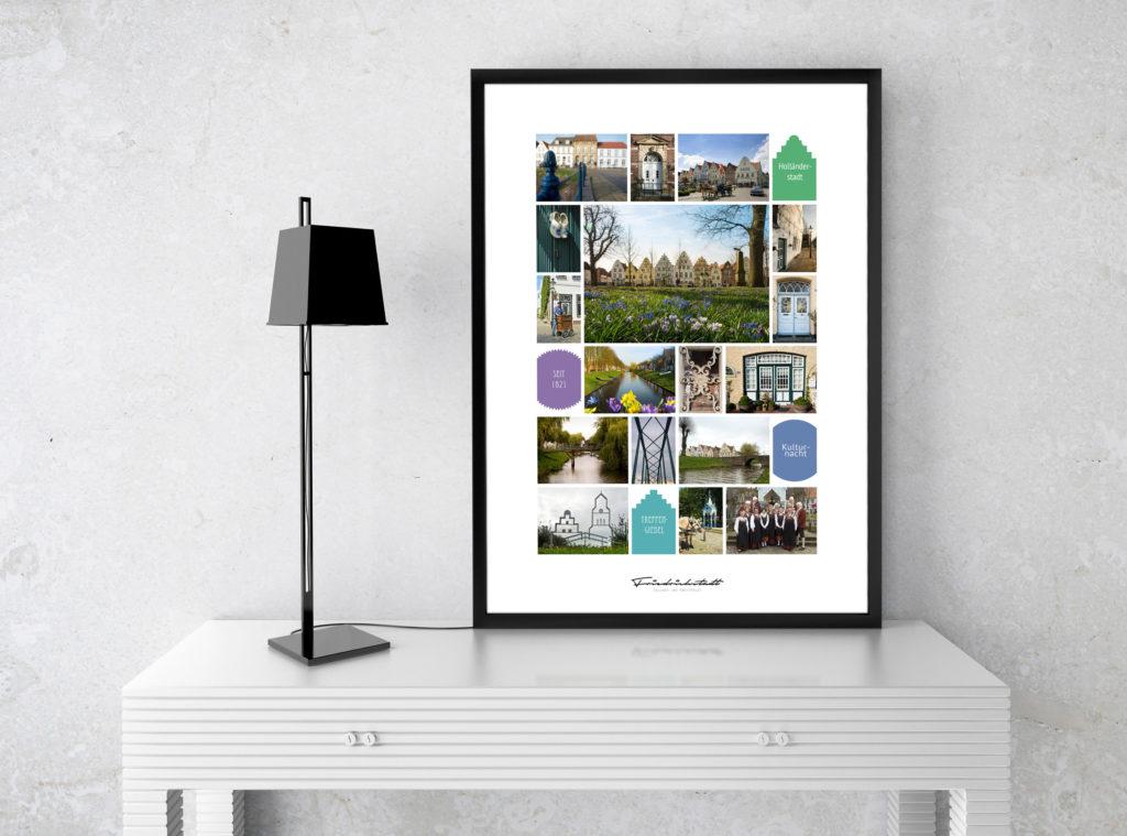 Collage Friedrichstadt Beispiel