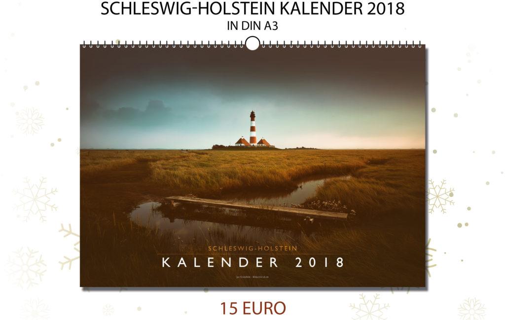 Schleswig-Holstein Kalender 2018
