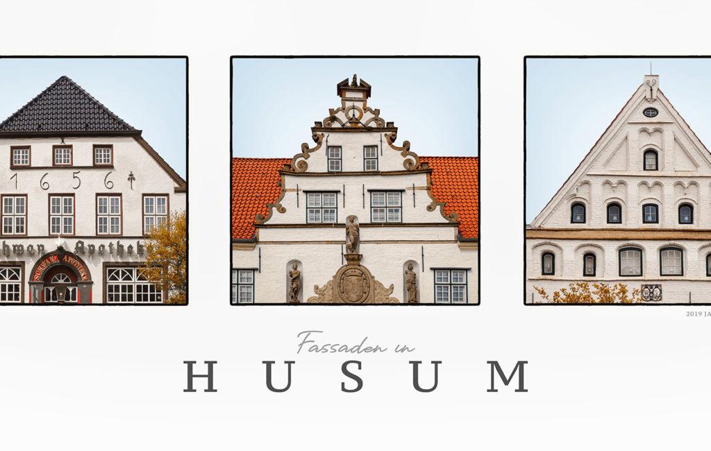GERAHMTES BILD: Fassaden in Husum