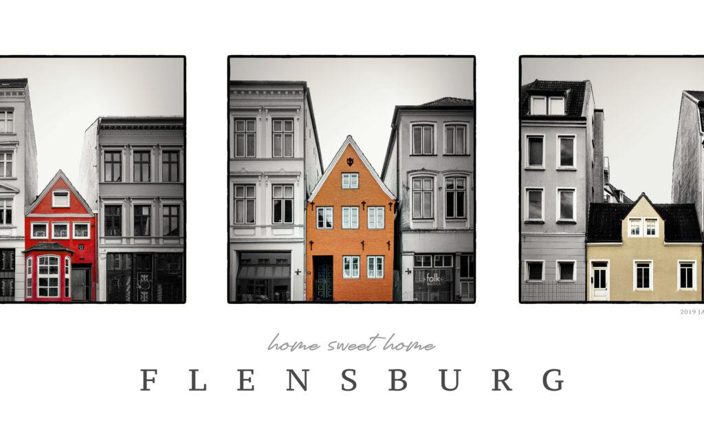 GERAHMTES BILD: Home Sweet Home Flensburg