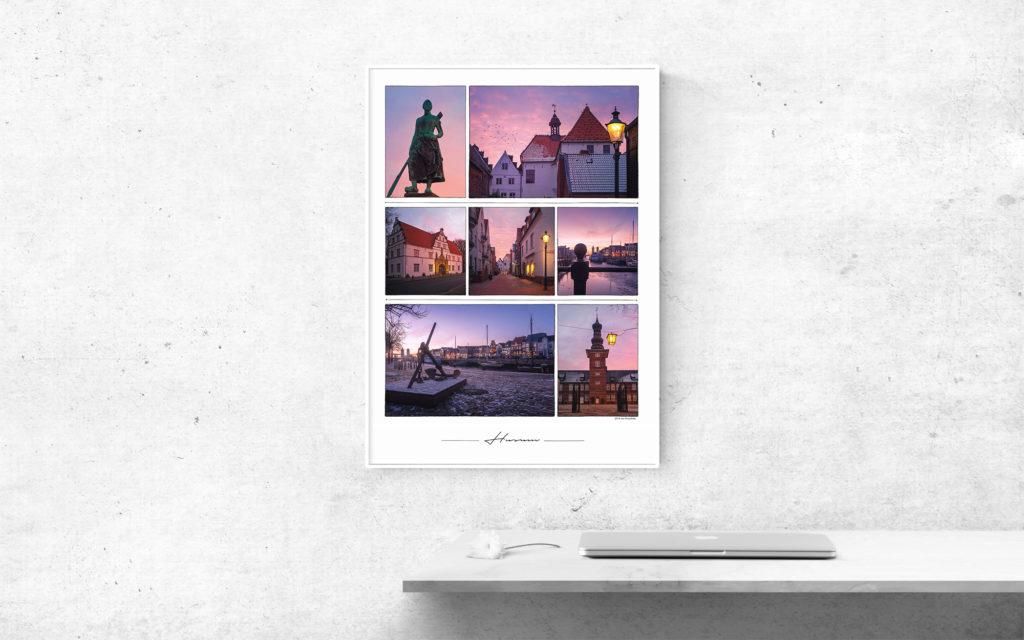Husum Collage Beispiel