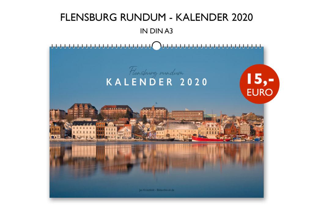 Flensburg rundum Kalender 2020 Jan Krützfeldt