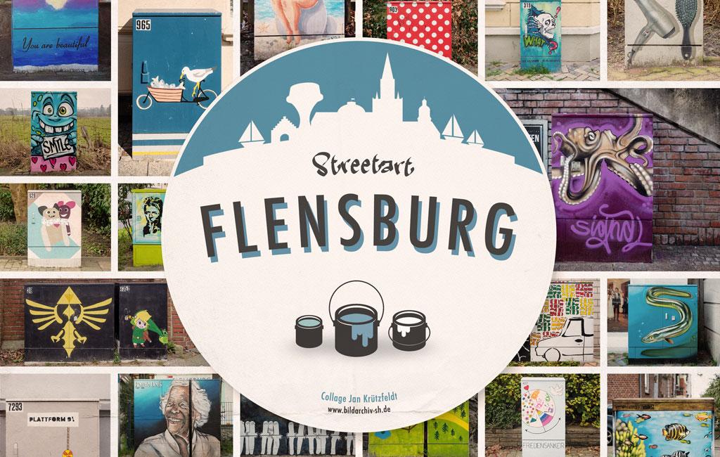 Poster: Streetart Flensburg 2