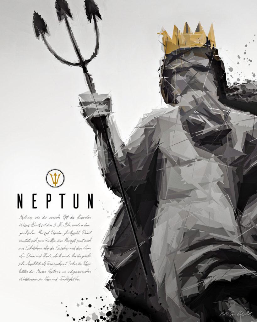 Neptunbrunnen in Flensburg
