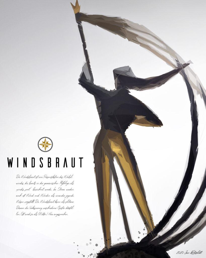 Windsbraut in Flensburg