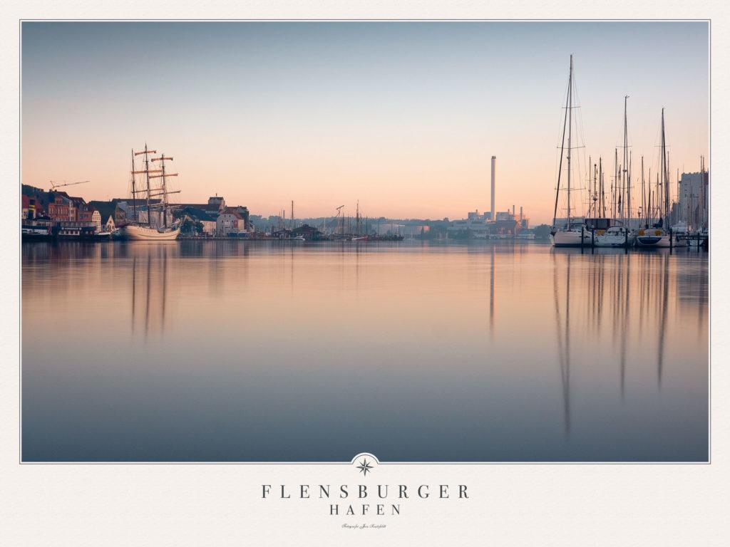 Poster Flensburger Hafen