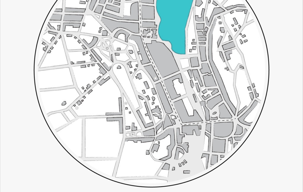 POSTER: Flensburg Karte