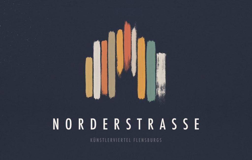 POSTER: Norderstraße Künstlerviertel