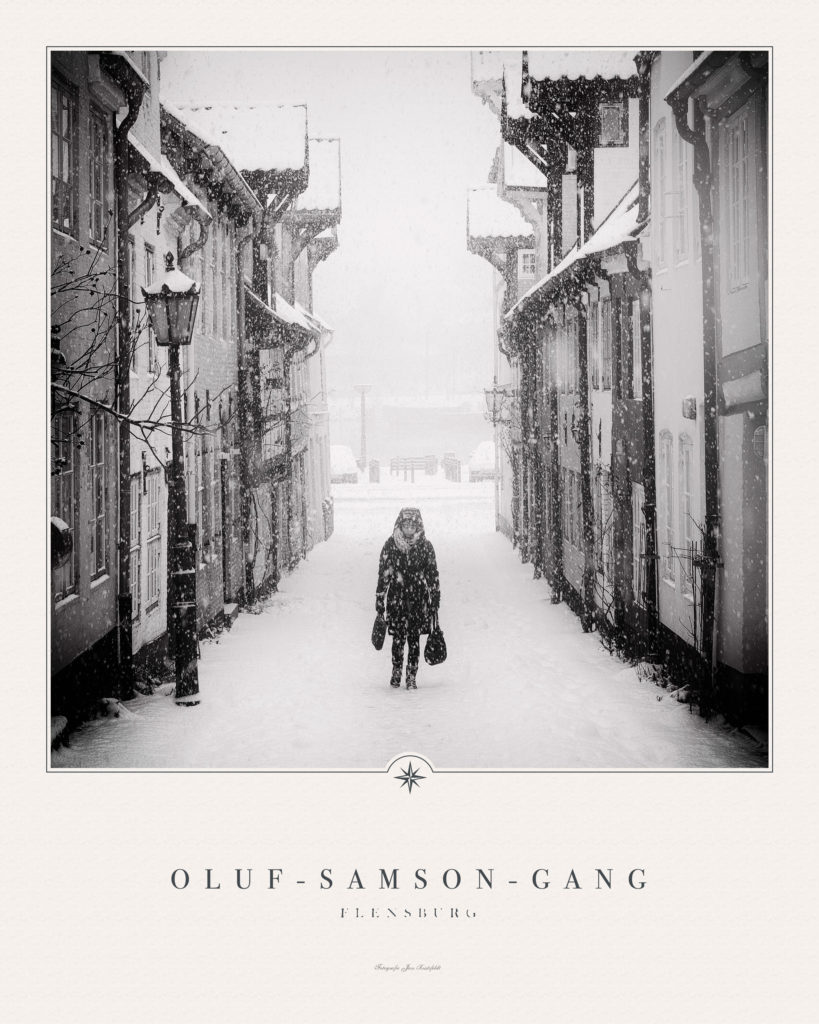 Oluf-Samson-Gang im Winter