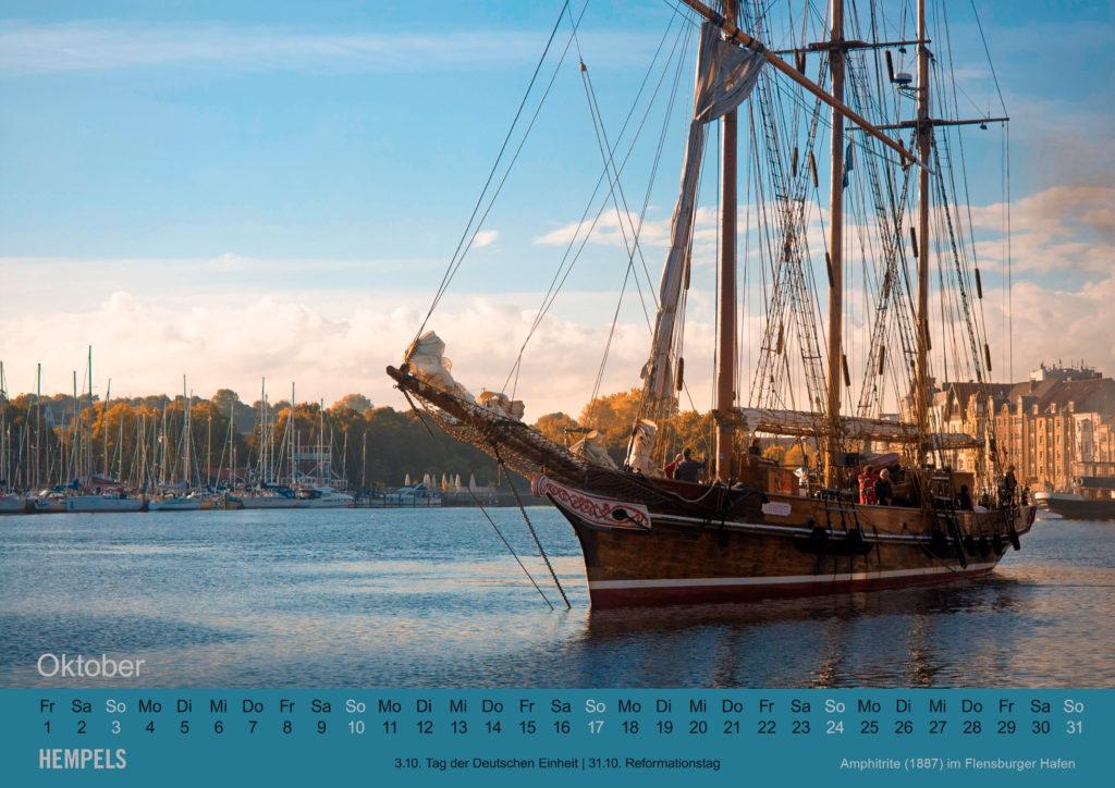 Kalenderblatt Oktober